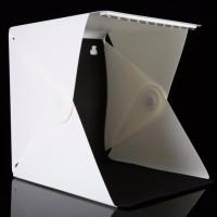 Photo Studio Mini dengan Lampu LED Size Besar Putih perkakas