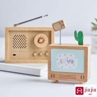 Kotak musik kreatif, Ruang tamu, Tv kabinet meja dekorasi rumah