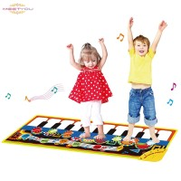 Piano Music Dance Play Mat Funny Musical Blanket Gifts for Kids Baby