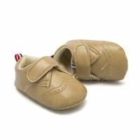 () Sepatu Bahan Kulit PU untuk Bayi Perempuan 0-1 Tahun