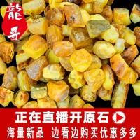 Longge lilin lebah batu asli bijih amber alami liontin gelang kalung