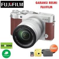 Fujifilm X-A3 Brown Kit 16-50mm Free Instax Mini 8 & Memory & Tas