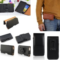 Leather Pouch Holster Belt Clip Case Holder For CAT S60 S50 S41 S40