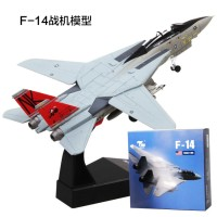 HOt☛1:100 US F14 Airplane Aircraft Fighter Model Diecast Plane