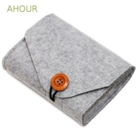 AHOUR Travel Earphone USB Date Cable Mouse Power Storage Bag