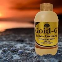 Jelly Gamat Gold G sea cucumber 500 ml 500ml asli original
