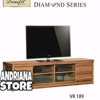 Meja / Bufet TV Minimalis Diamond VR 189 last stok