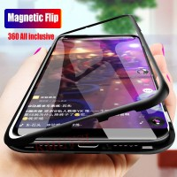 Metal Magnetic Case For Samsung Galaxy A10s A20 A30S A40 A50 A60 A70