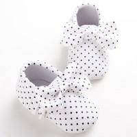Sepatu First Walker Bayi Laki-laki / Perempuan Motif Polkadot
