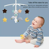 Ready Baby bed bell rattle children 0-1 year old music rotating