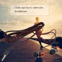 Fa Fa ♥ Earphone In-ear Subwoofer Dengan Kabel