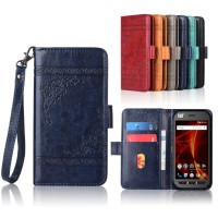 Newest Wallet case for Caterpillar Cat S41 Flip case with Strap,100%