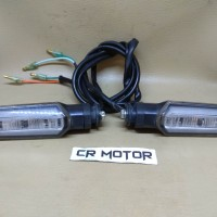 original lampu sein reting sign cbr 150 new led ori copotan motor