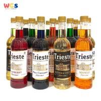 Trieste - Sirup Premium 650 ml - Aneka Varian Rasa