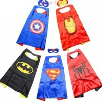 hoot sale Jubah SuperHero Batman Superman Captain America Anak-anak +