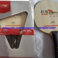 hoot sale DHS Hurricane WL Kayu / Blade Bat / Bet Pingpong / Tenis