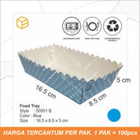 Food tray | foodgrade pack | tray makanan 50501