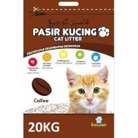 TERMURAH GOJEK ONLY- PASIR KUCING KAWAN 20KG CAT LITTER BENTONITE