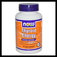 Hot Sale Now Foods Thyroid Energy Thyroid Support 90 Veggie Caps