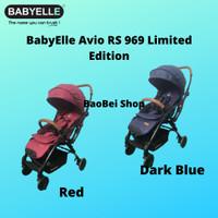 Kereta Dorong Bayi BabyElle Avio RS 969 Red Limited Edition
