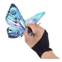 Sarung Tangan Lukis Gambar Drawing Gloves Tablet Design Desain Sketsa