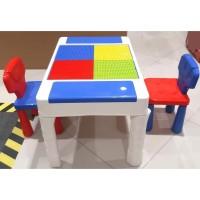 Lego Table Brick Meja Lego Anak buat main Lego Learning Desk