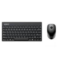 Robot KM3000 Portable Mini Wireless Keyboard & Mouse Combo - Hitam