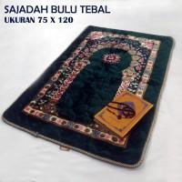 TEBAL DAN BESAR sajadah turki /sajadah bulu / uk 80 x 120 cm