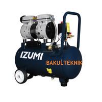IZUMI Oil Less Compressor Angin KOMPRESOR LISTRIK IZUMI TANPA OLI 24L