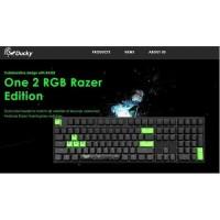 Ducky One 2 Razer Edition RGB Mechanical Keyboard Fullsize