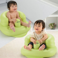 RICHELL Baby Airy Chair Soft Bath Chair Kursi Bayi Inflatable