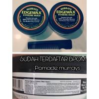 Pomade Murrays Edgewax Extreme Hold waterbased + free sisir
