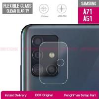 Anti Gores Kamera Samsung Galaxy A71 / A51 Tempered Glass Camera