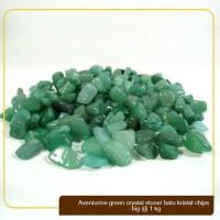 Batu Kristal / Crystal Stones Chips Aventurine Green Big @ 1kg