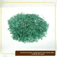 Batu Kristal / Crystal Stones Chips Aventurine Green Small @ 500gram