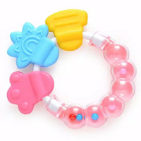 Baby Teether / Mainan Gigitan Bayi / Mainan Rattle Teether