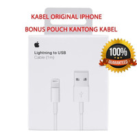 Kabel Charger iphone Original Kabel Data iphone - Kabel 1 Meter