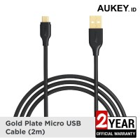 Aukey Cable 2M Micro USB 2.0 Gold Plate - 500161