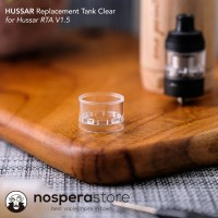 Hussar Replacement Tank Clear for RTA V1.5 Authentic