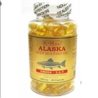 Minyak ikan alaska/k-Max deep sea fish oil 100kpsl