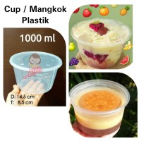Cup Mangkok 1000ml/Lunch Box Plastik/Thinwall 1000ml/Food Container