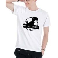 Kaos Baju Tshirt no internet jurasic