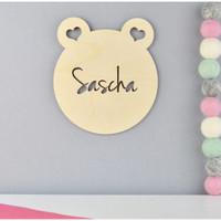 Custom Hiasan Dinding Kamar - Bear / Wall Decor Baby Room / Kamar Anak