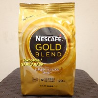 JAPAN Quality!! Refill Nescafe Gold Blend 120gr , Japan Freeze Dried