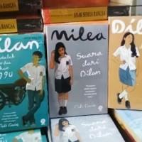 Paket 3 Novel Dilan 1990, 1991 Dan Milea