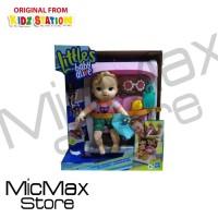 Boneka Littles Baby Alive Stroller Push and Kick Little Anna Blonde