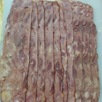 BEEF BACON SLICE ( ISI 20 PCS ) IMPORT MURAH/ BEEF SLICES