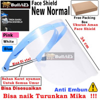 Face Shield Dental Medis Premium APD Mask Masker Wajah Anti Droplet