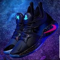 Sepatu Basket Nike Paul George 2 Playstation Blue