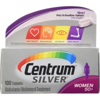 Centrum Silver Women's 50+ Multivitamin/Multimineral, 100 Tablets